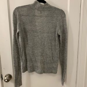 40a5ba6d15d0 Lulu's Sweaters | Lulus Warm Me Up Heather Grey Wrap Sweater Top ...